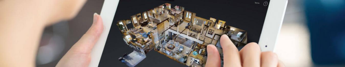 Website design 360 Real estate project